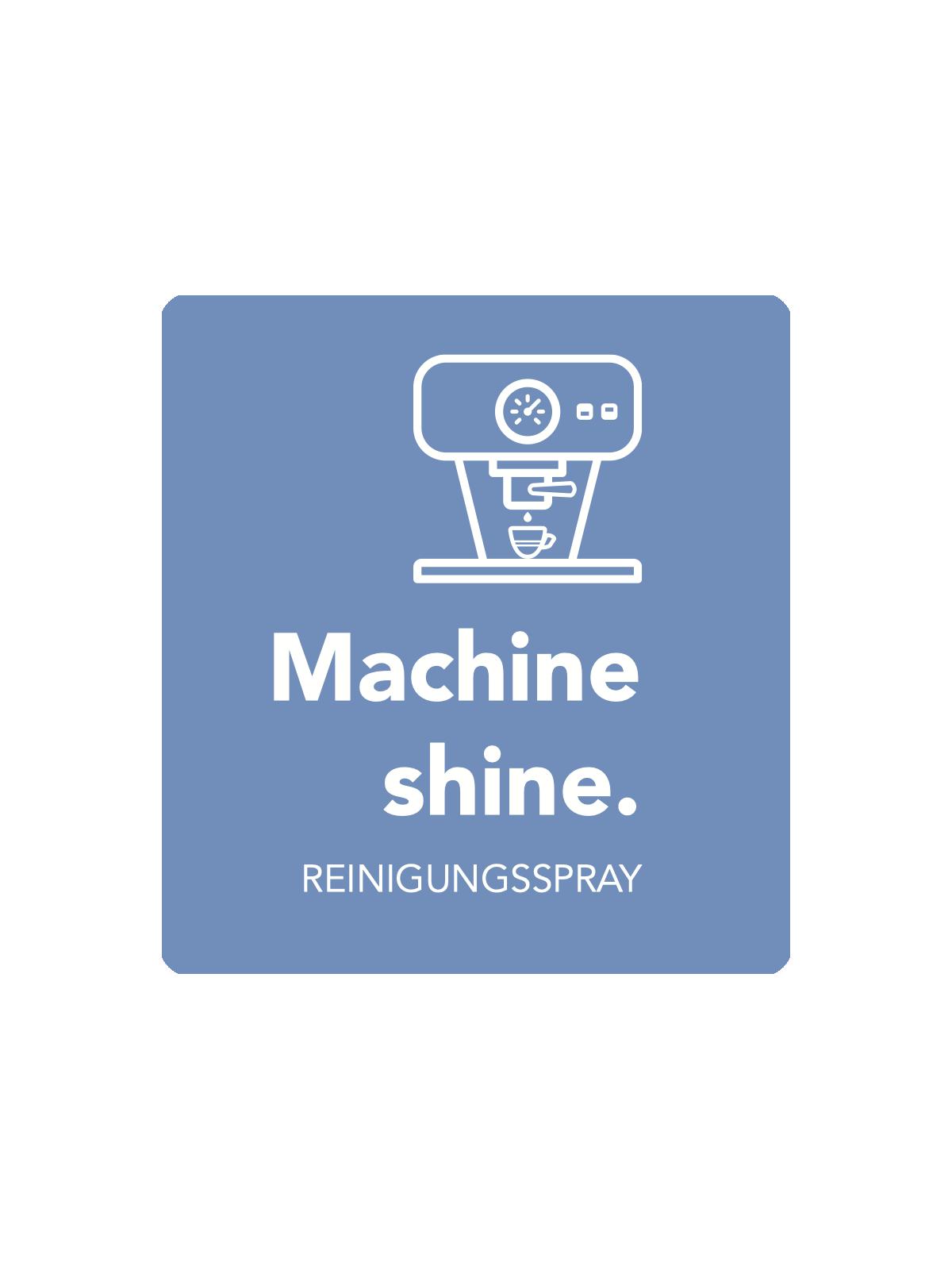 Machine shine - Glanzreiniger für Edelstahl Espressomaschinen