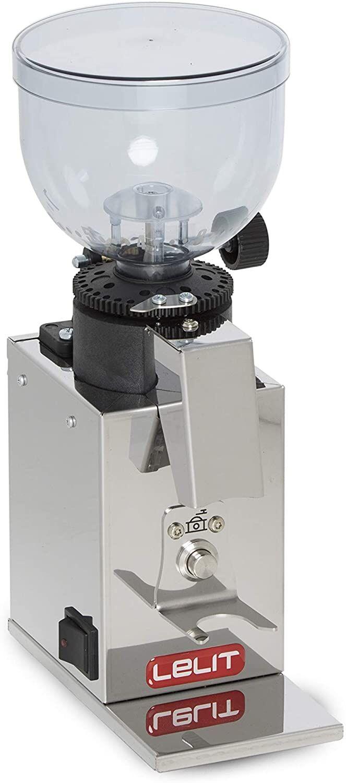 Lelit PL043MMI Fred Espresso - und Kaffeemühle Edelstahl