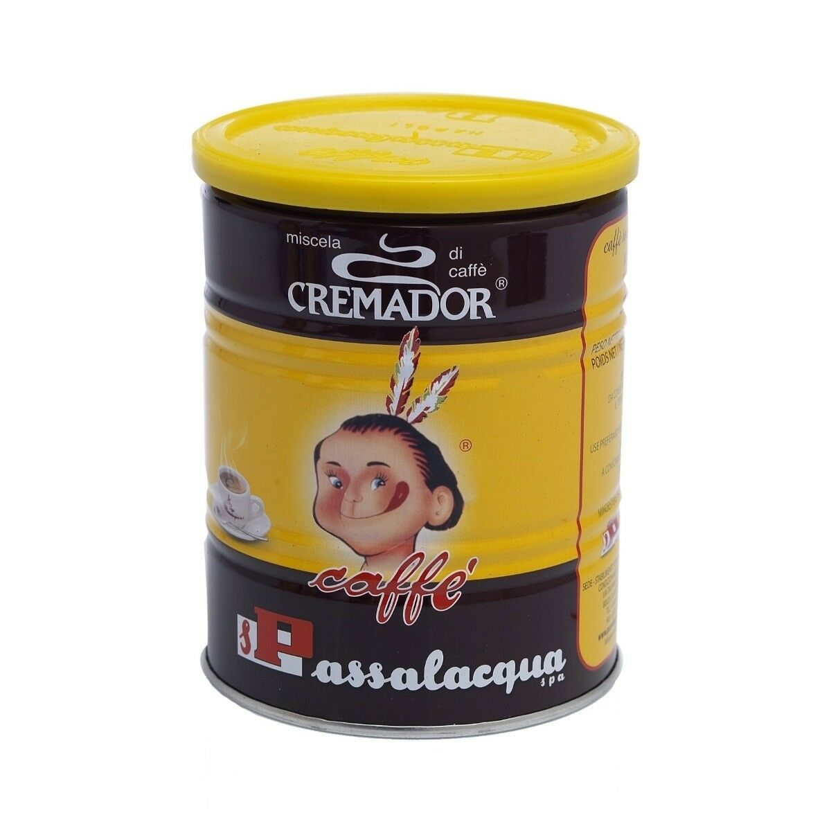 PASSALACQUA Cremador 12x 250 g gemahlen in Dosen