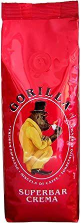 GORILLA Super Bar Crema 20x 250 g Bohnen im Beutel