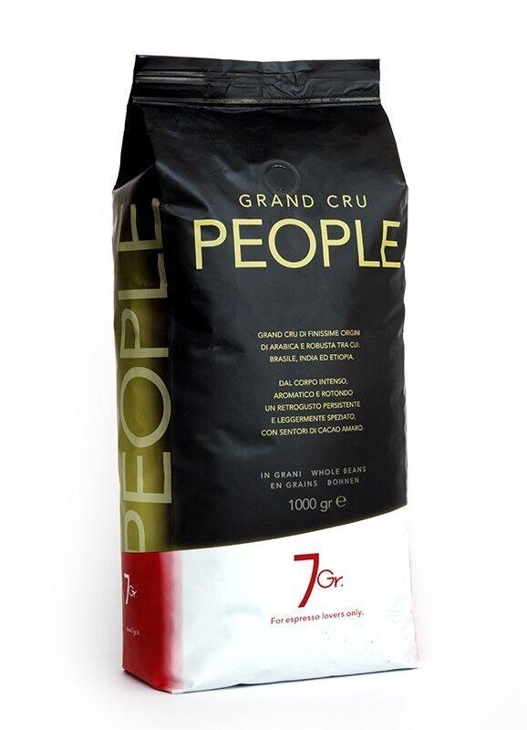 7 GR. PEOPLE COFFEE Grand Cru 1 KG Bohnen im Beutel