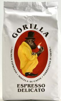 GORILLA Espresso Delicato 12 X 1 KG Bohnen im Beutel