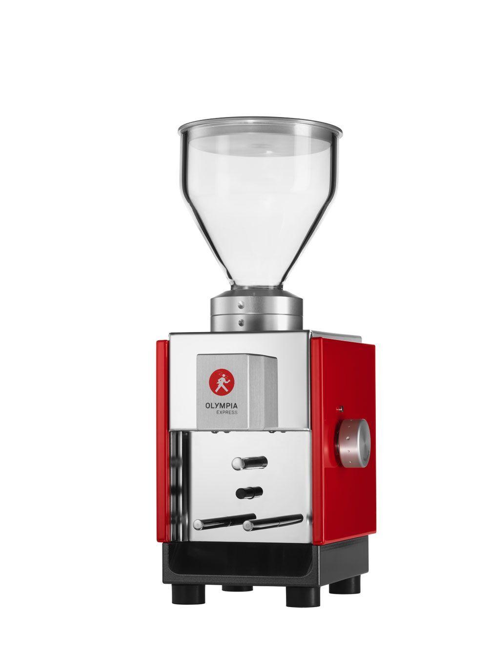 Olympia Express Moca Red kafijas dzirnaviņas
