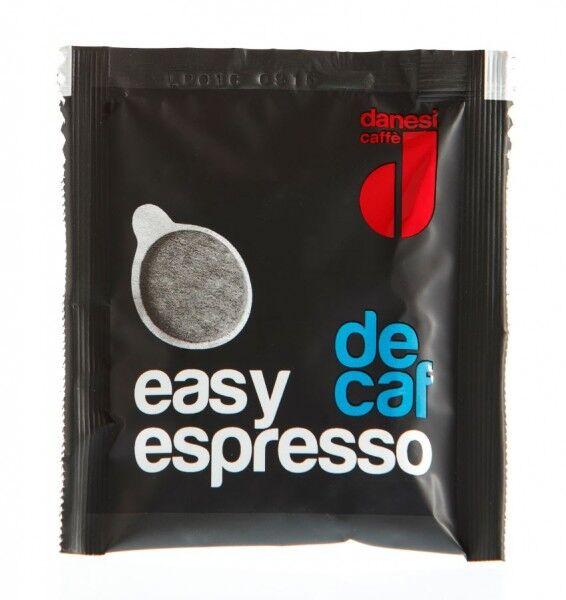 DANESI Easy Espresso Decaffèinato (entkoffeiniert) 150 ESE-Pads je 7 g gemahlen