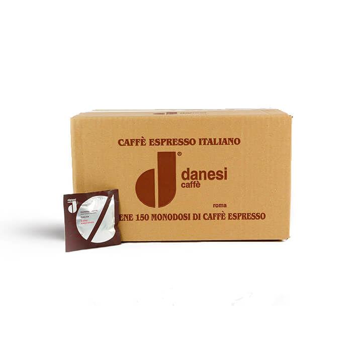 DANESI Easy Espresso ORO 150 ESE-Pads je 7 g gemahlen