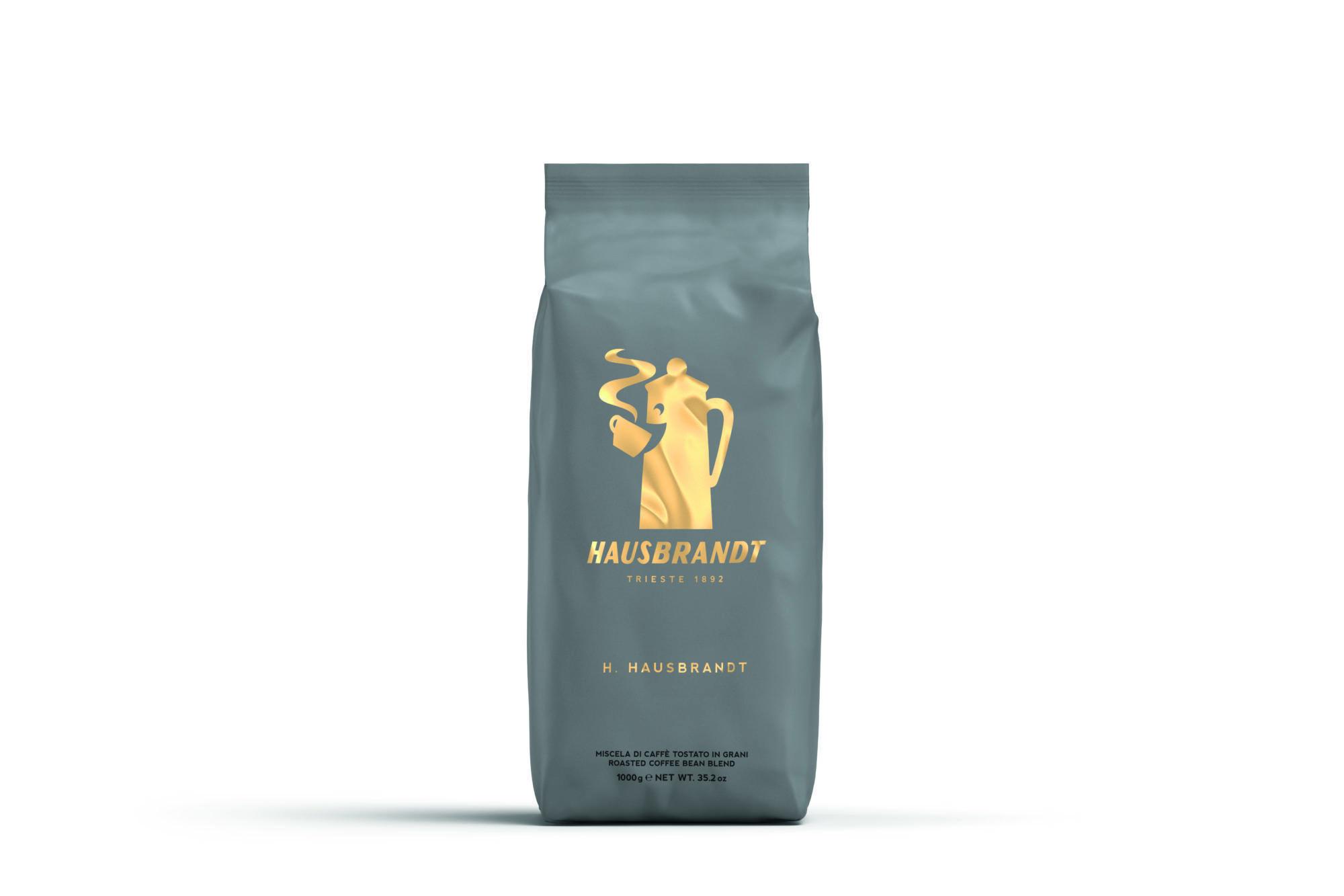 HAUSBRANDT Caffé H+H 6 X 1 KG Bohnen im Beutel