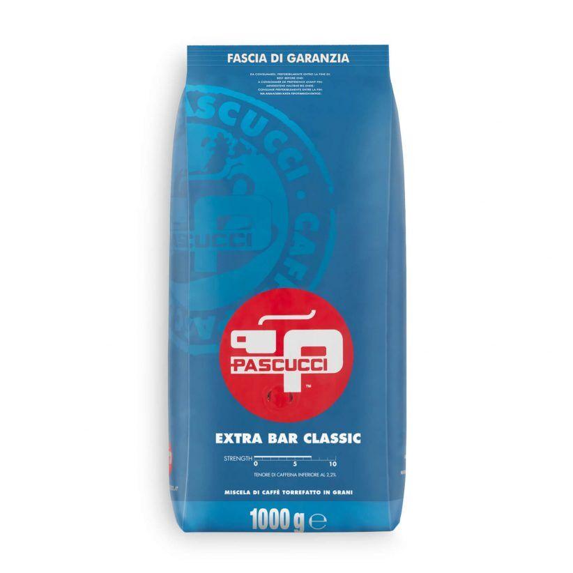 PASCUCCI Extra Bar Classic 8 X 1 KG Bohnen im Beutel