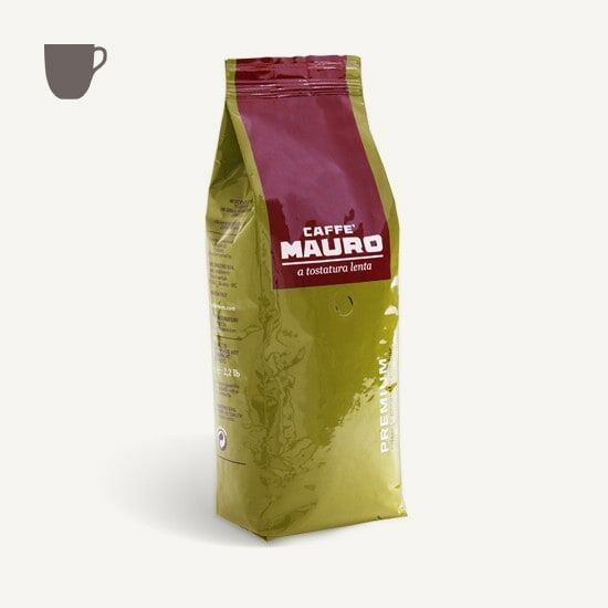 CAFFÈ MAURO Premium 1 KG Bohnen im Beutel