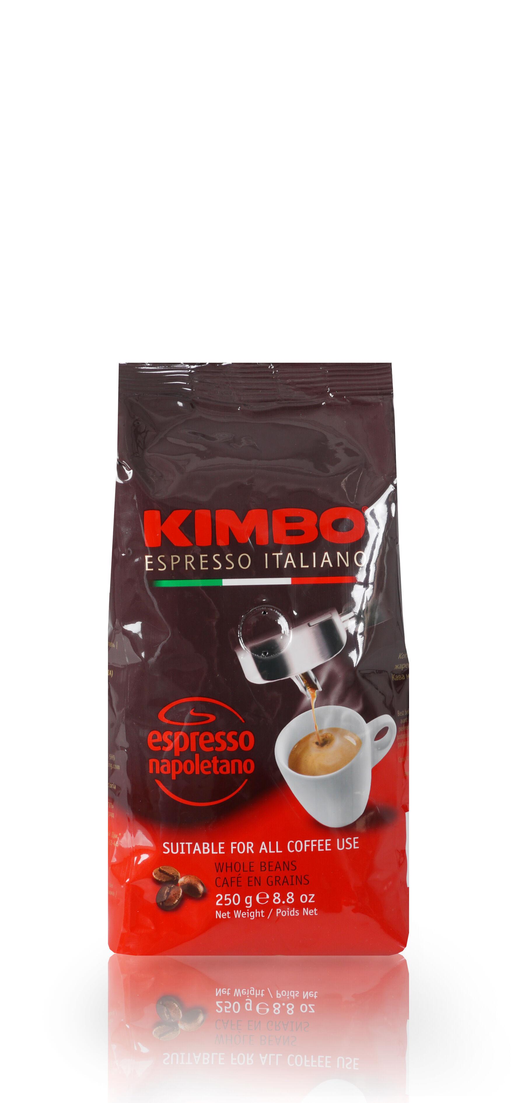 KIMBO Espresso Napoletano 12x 250 g Bohnen im Beutel