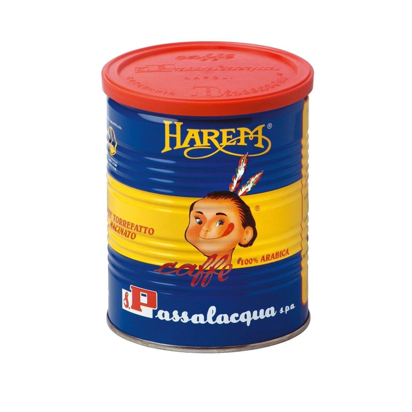 PASSALACQUA Harem 12x 250 g gemahlen in Dosen