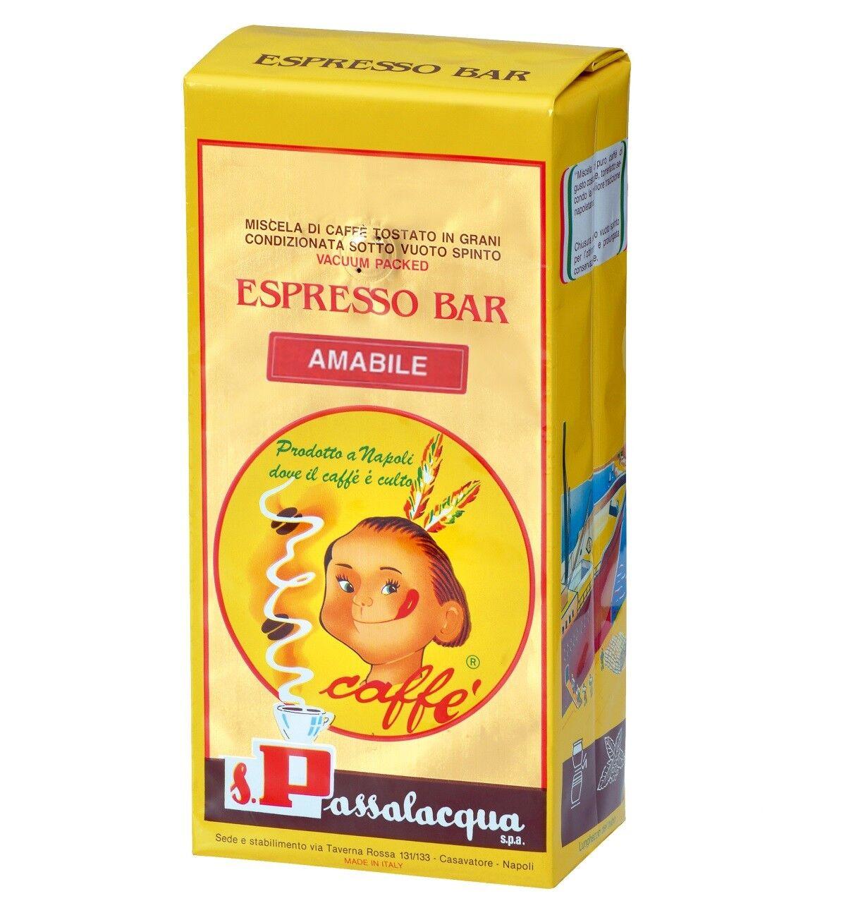 PASSALACQUA Amabile 6 X 1 KG Bohnen im Beutel