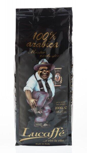 Lucaffé Mr. Exklusive 100% Arabica 12 X 1 KG Bohnen im Beutel