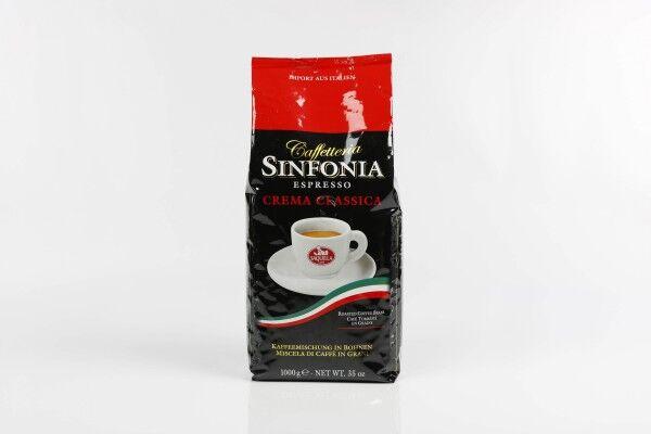 SAQUELLA Espresso Sinfonia Crema Classica 8 X 1 KG Bohnen im Beutel