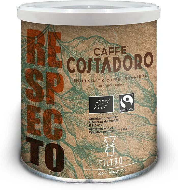 COSTADORO Respecto Filter BIO und FAIR - IT BIO 005 - 250 g gemahlen, Dosen