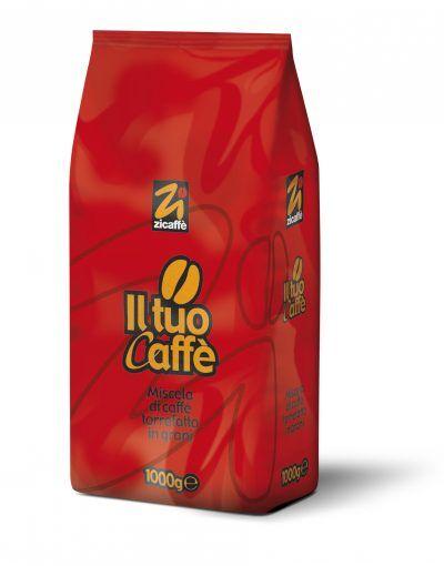 Zicaffè Il tuo Caffè 6 X 1 KG Bohnen im Beutel