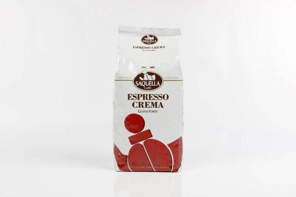 SAQUELLA Espresso Crema Gusto Forte 10 X 1 KG pupiņu maisiņā