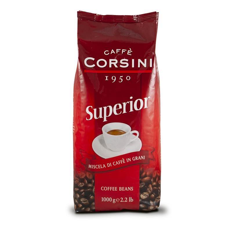 Caffè Corsini Superior 8x 1 KG Bohnen im Beutel