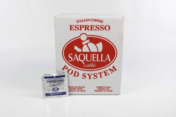 SAQUELLA Regular 1x 150 ESE spilventiņi, katrs 6,67 g malts