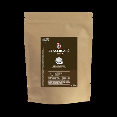 Blasercafé Marrone 20 ESE-Pads je 6,95 g gemahlen
