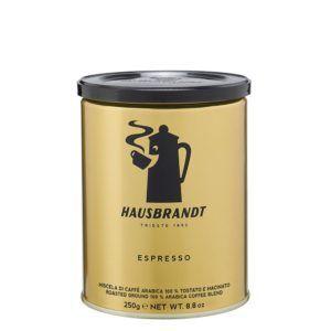 HAUSBRANDT Caffé Espresso 12x 250 g gemahlen in Dosen