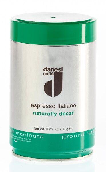 DANESI Decaffèinato (entkoffeiniert) 250 g gemahlen in Dosen
