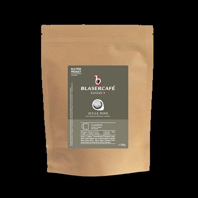 Blasercafé Classico 20 ESE-Pads je 6,95 g gemahlen