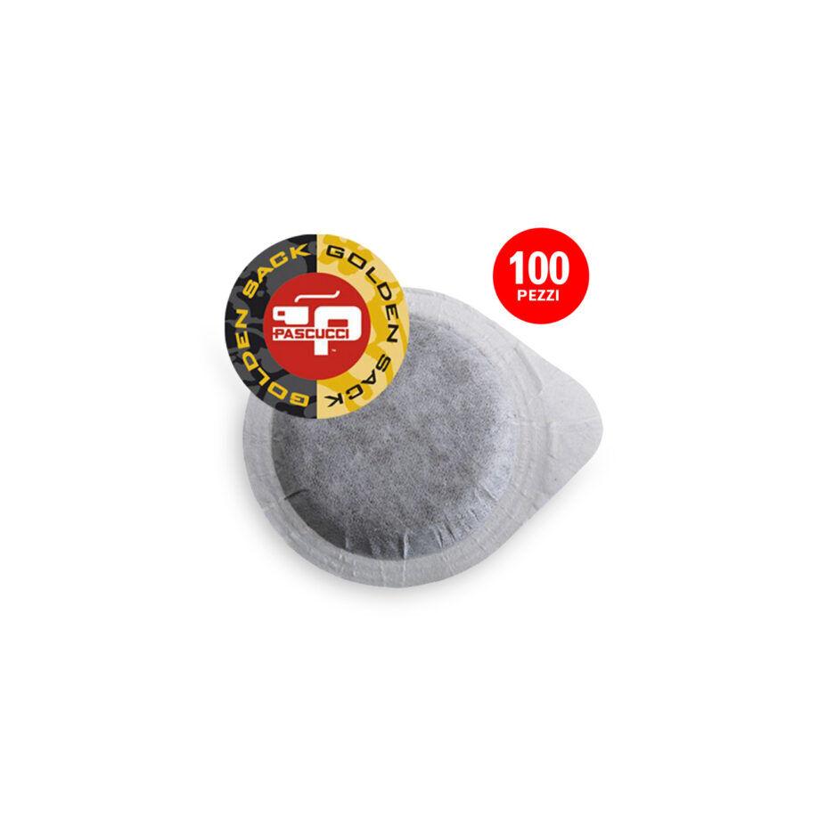 PASCUCCI Caffè Gold 1x 100 ESE-Pads je 7 g gemahlen