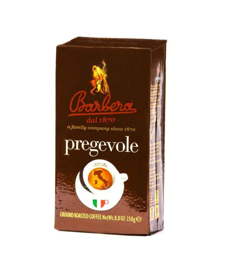 Barbera Caffè Pregevole 24x 250 g gemahlen und vakuumiert