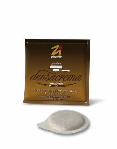 Zicaffè Densacrema gusto fine 1x 100 ESE-Pads je 7 g gemahlen