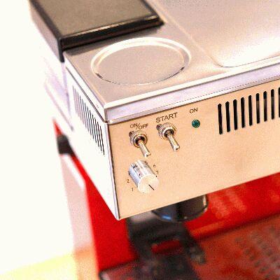 Quick Mill 0835 Retro Espressomaschine Rot
