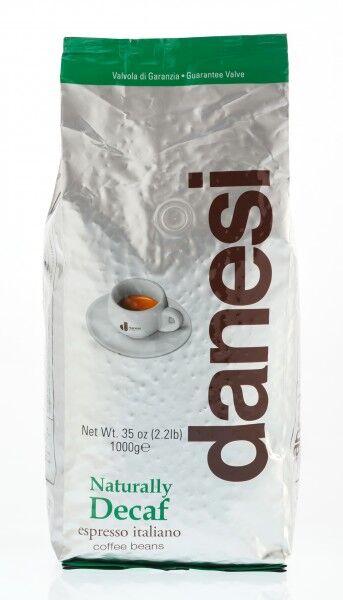 DANESI Decaffèinato (entkoffeiniert) 12 X 1 KG Bohnen im Beutel