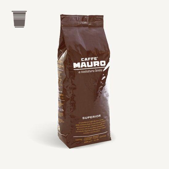 CAFFÈ MAURO Superior 1 KG Bohnen im Beutel