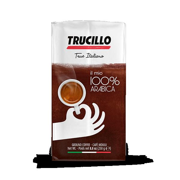 TRUCILLO Il mio caffé 100% Arabica 250 g Kaffee gemahlen